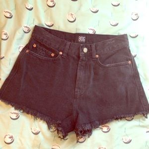 NWOT urban outfitters BDG high waisted black short